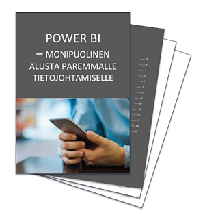 Power BI -opas tarjoaa lisätietoja järjestelmästä ja sen käyttöönotosta