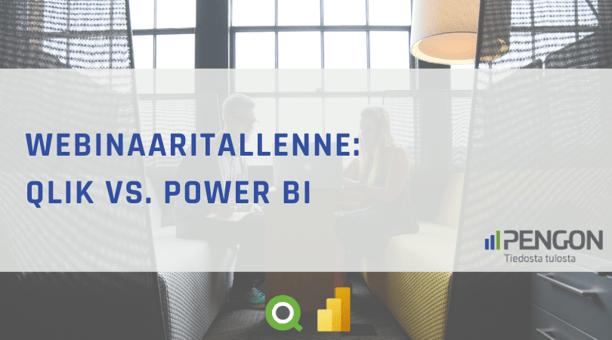 Katso webinaaritallenne Qlik vs Power BI