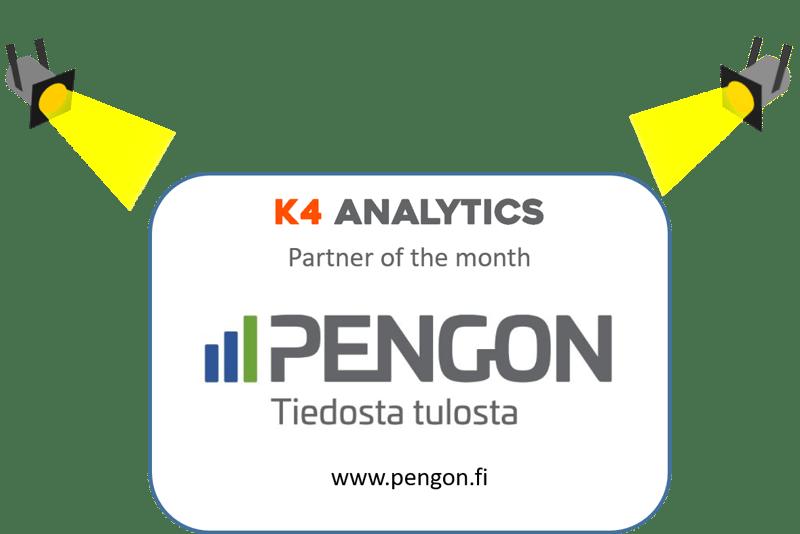 Pengon on kuukauden K4 Analytics Partner!